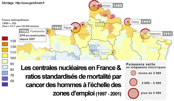 carte centrales nucleaires france nord